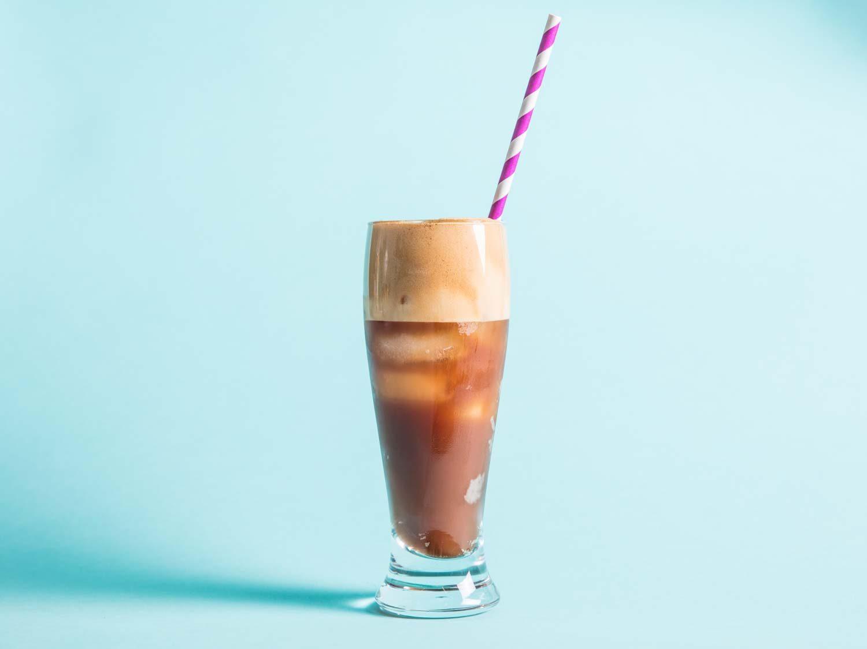 Frappé (Foamy Iced Coffee)