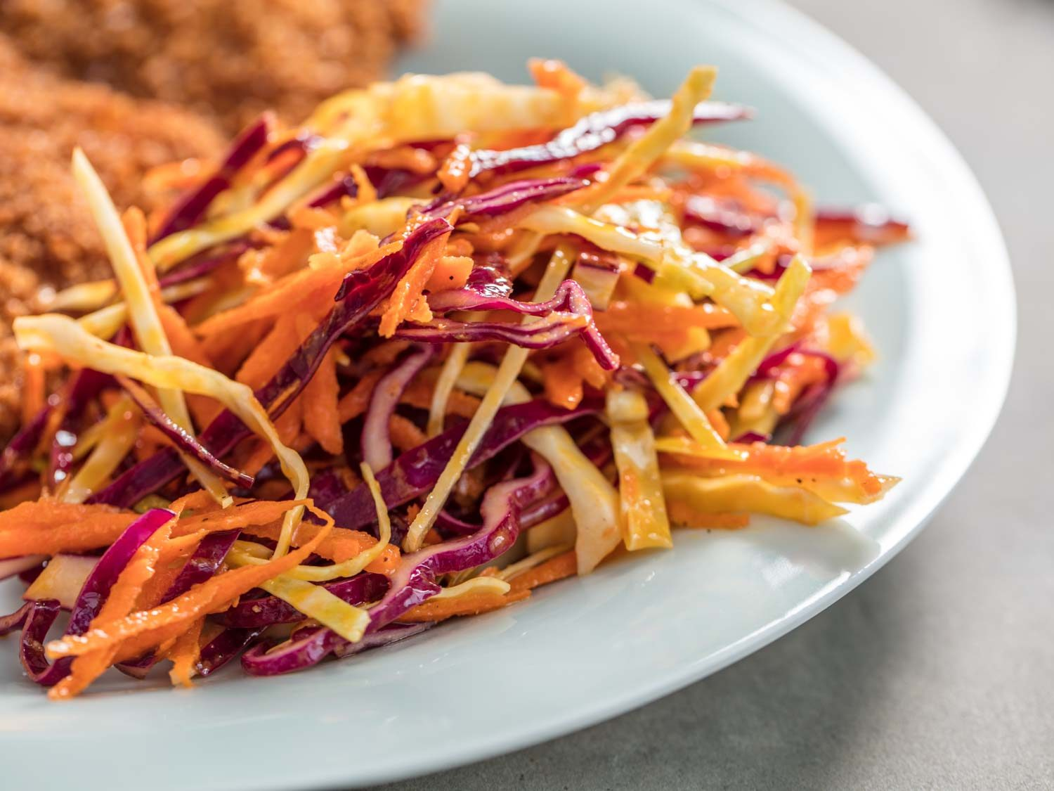 Coleslaw With Creamy Chili Vinaigrette