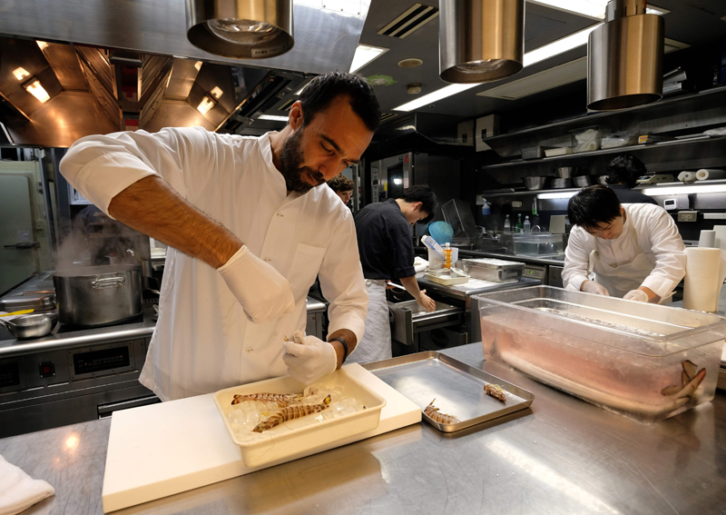 Tsukiji: It's not all about the fish, says Michelin chef