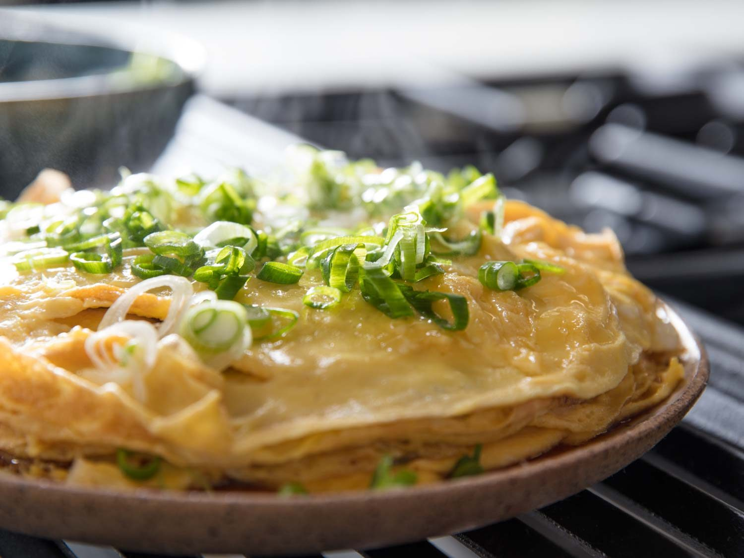 Chinese-Style Layered Omelette