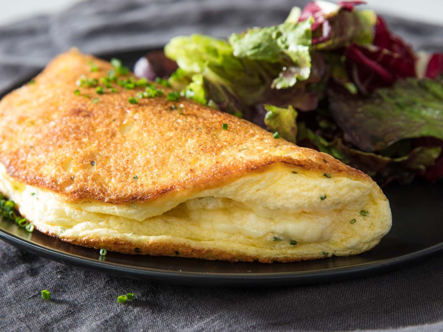 Omelette Soufflé With Cheese