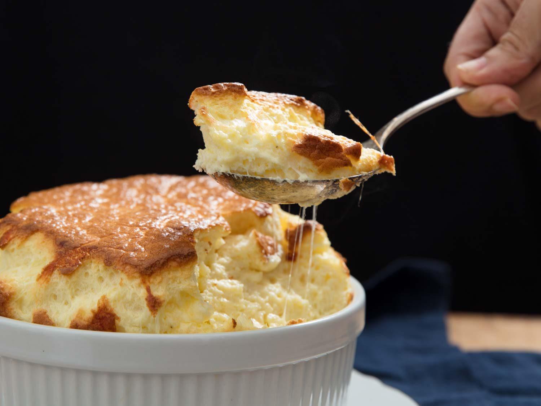 Savory Cheese Soufflé