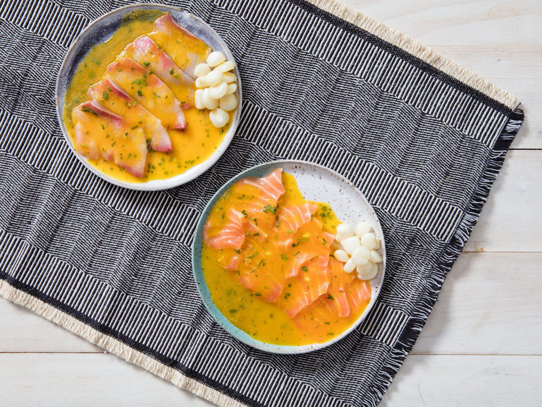 Peruvian Tiradito With Aji Amarillo and Lime