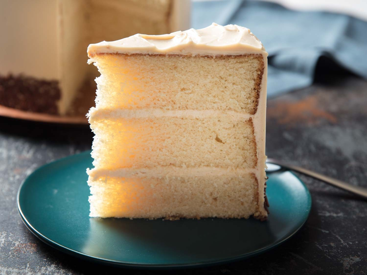 White Cake With Brown Butter and Toasted Sugar