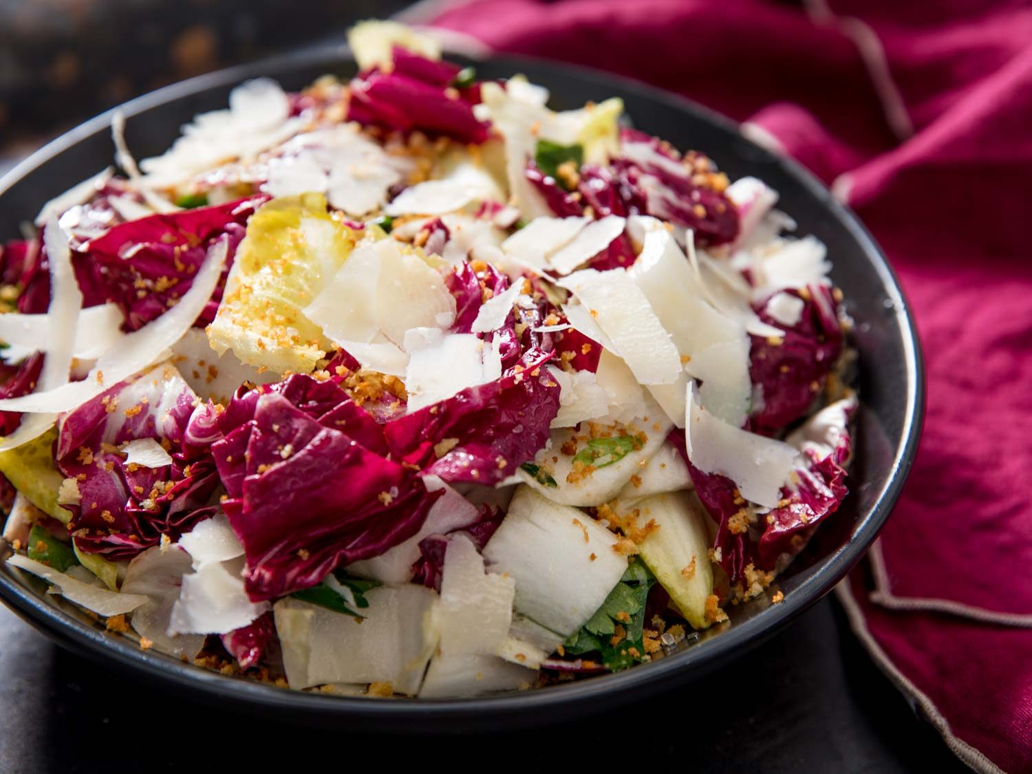 Radicchio, Endive, and Anchovy Salad