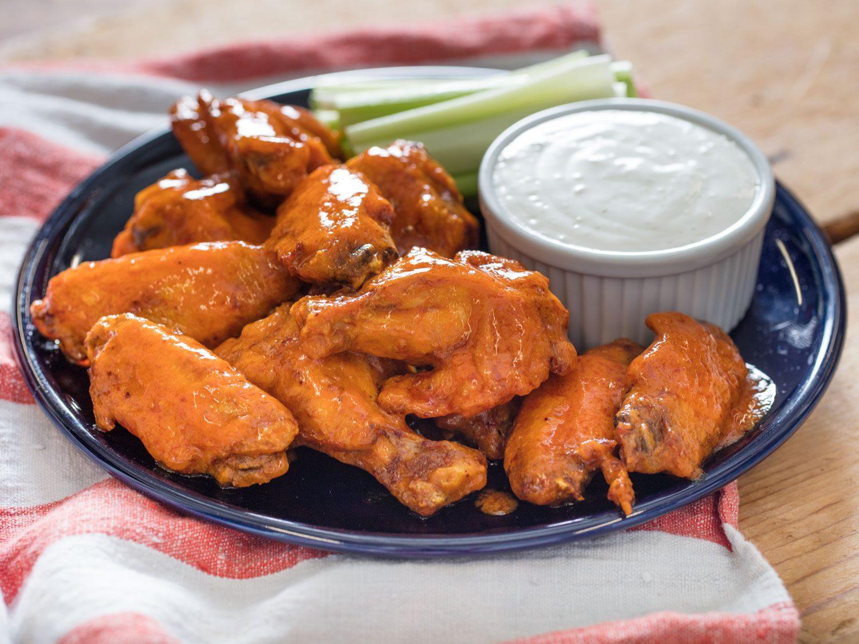 Sous Vide Buffalo Chicken Wings