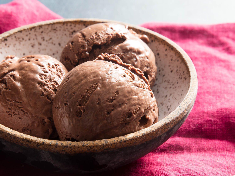 No-Churn Chocolate Ice Cream