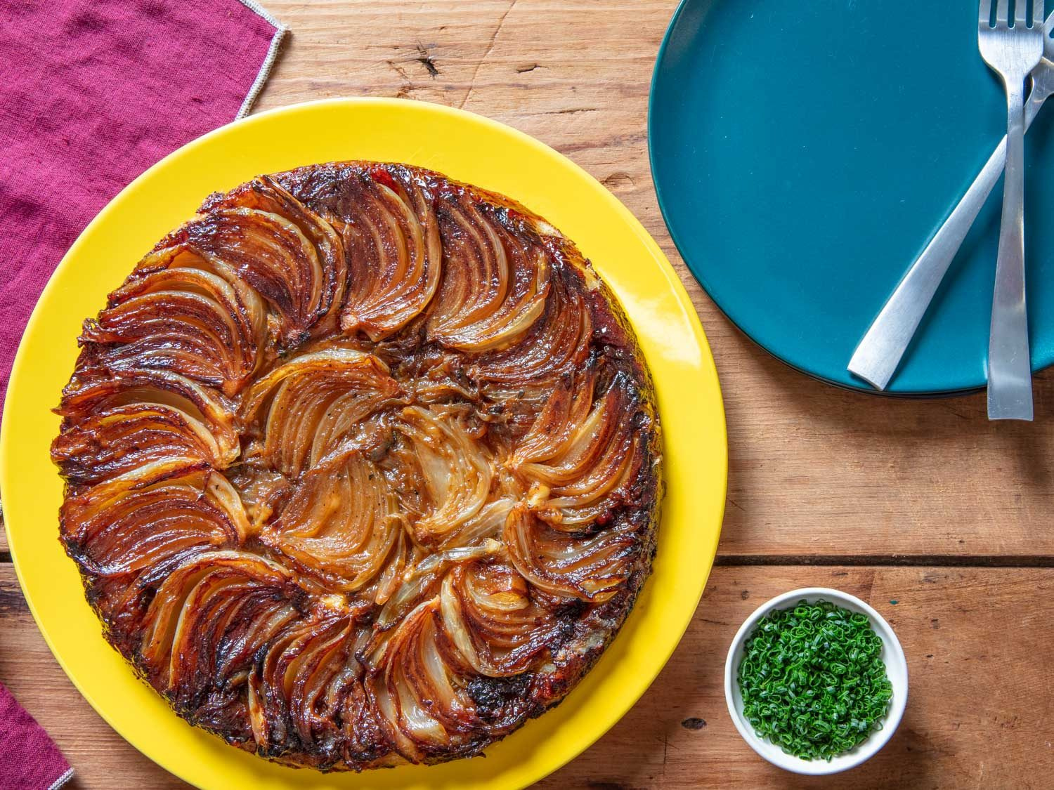 French Onion Soup Tarte Tatin
