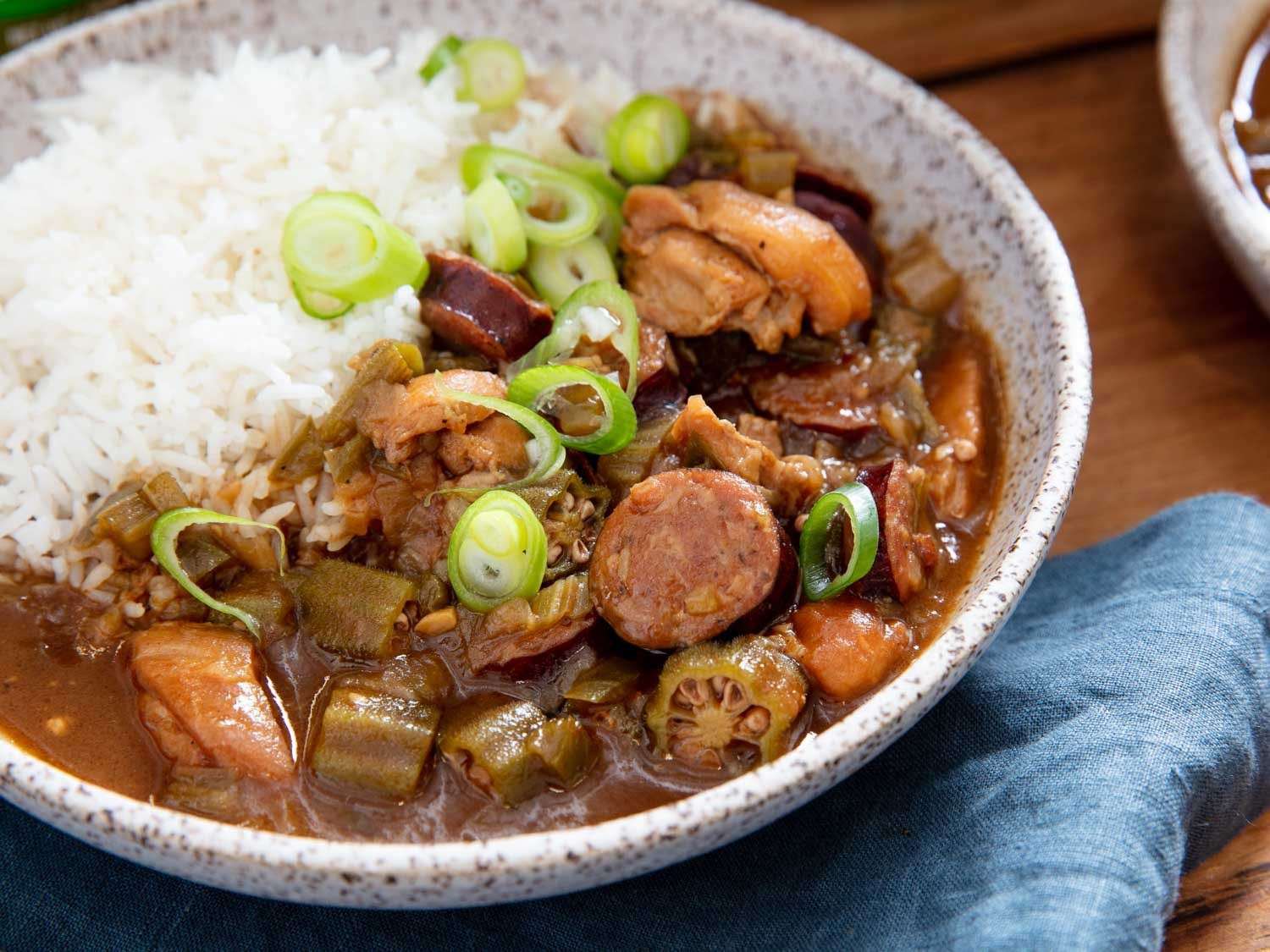 Cajun Gumbo With Chicken and Andouille Sausage