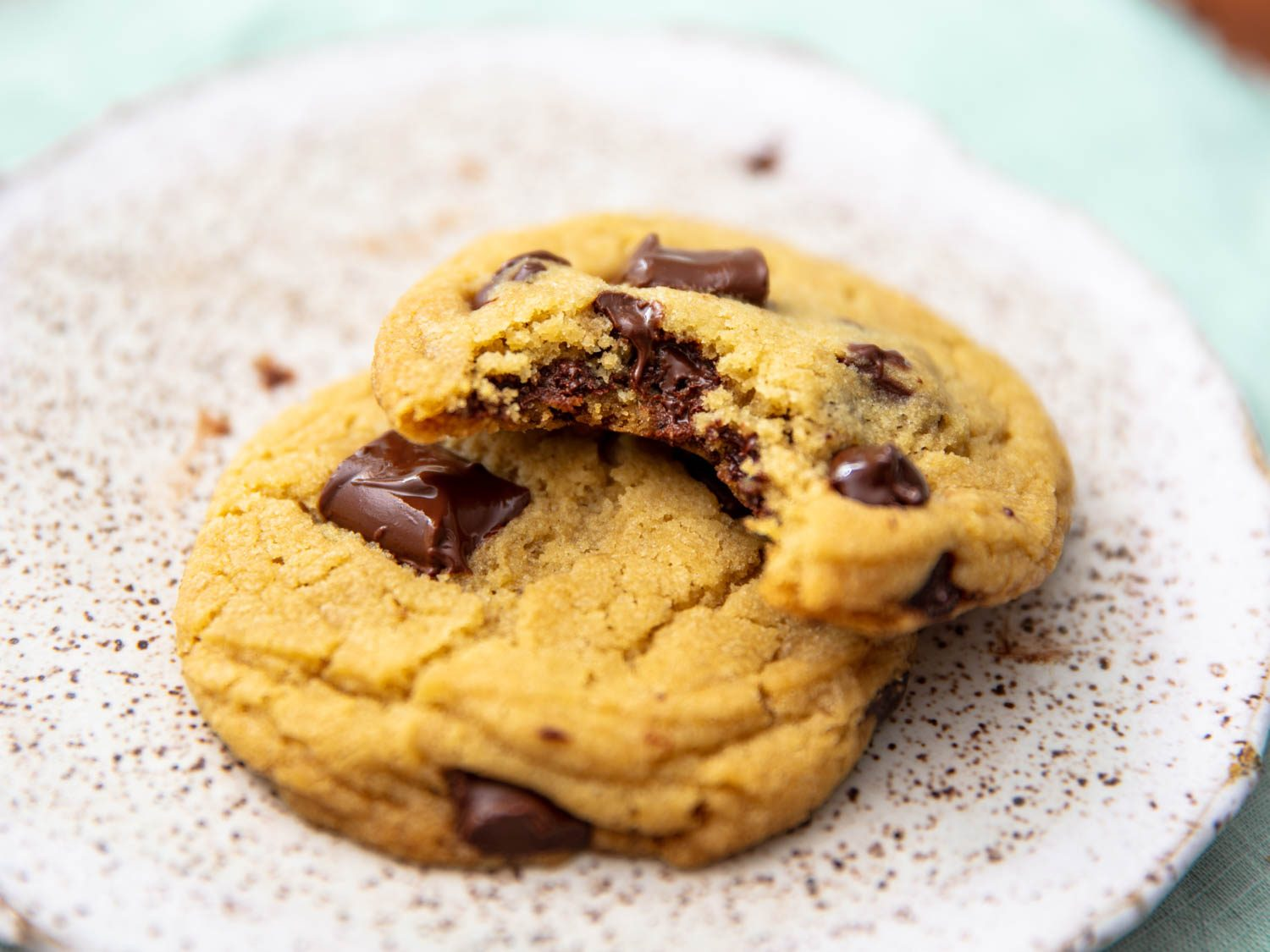 Olive Oil Chocolate Chip Cookies
