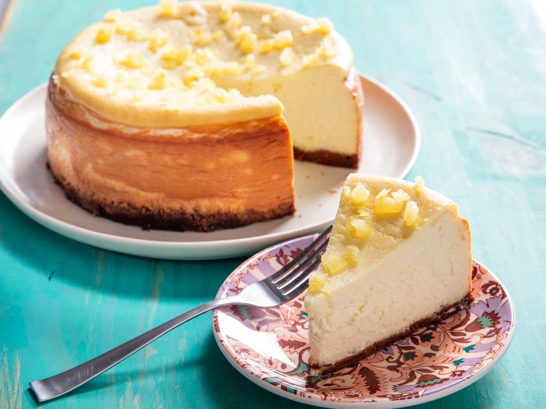 Lemon-Ricotta Cheesecake